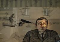 Alın yazımdın beni öldüren - you were my destiny who killed me - 60 x 90 cm - 2010 - Paris